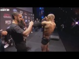 Взвешивание к UFC 158 - Жорж Сент-Пьер против Ника Диаза.
